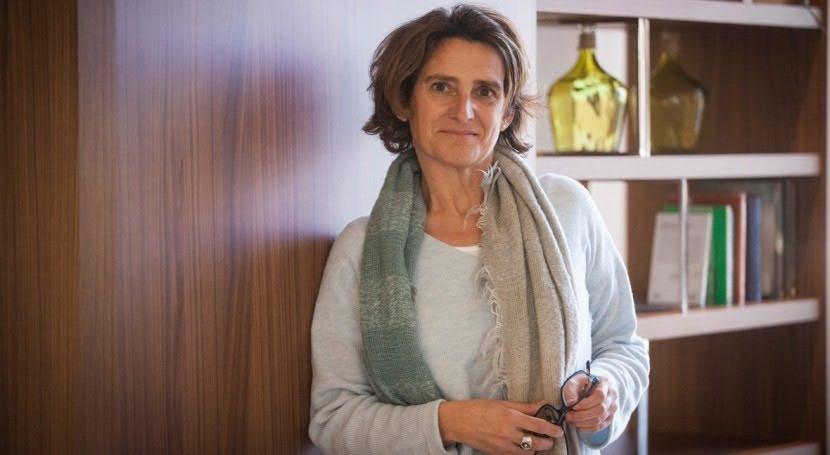 """Teresa Ribera: """" agua es elementos críticos escenarios cambio climático"""""""